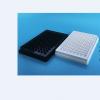 上海晶安J09602黑色96孔板 全黑96孔酶标板 不可拆卸96孔微孔板 黑色荧光96孔板 带盖