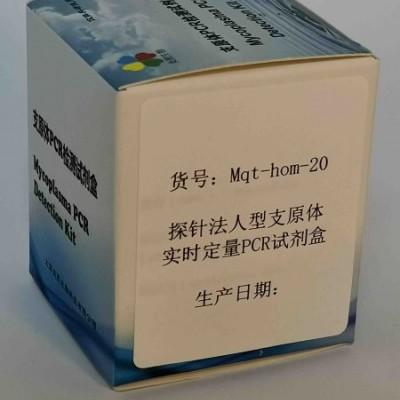探针法人型支原体实时定量PCR试剂盒